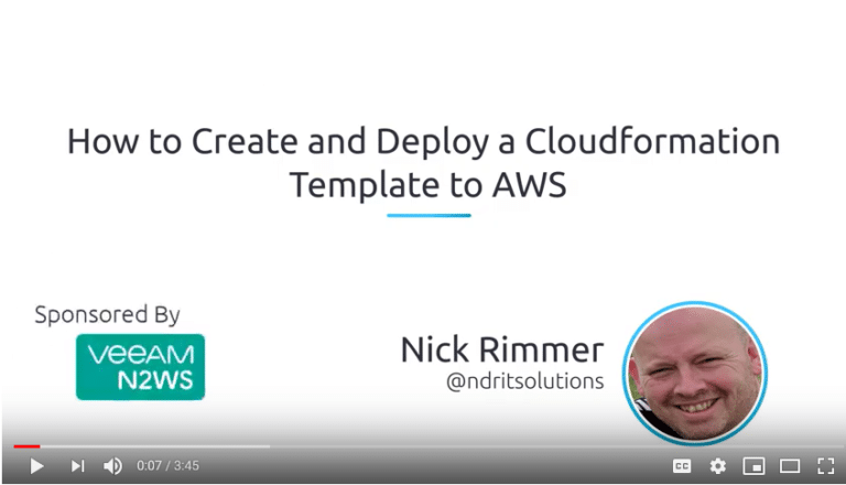 cloudformation AWS